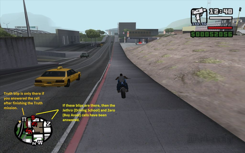 Grand Theft Auto: San Andreas/Game Mechanics and Glitches