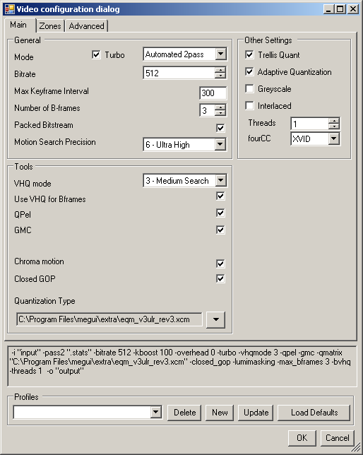 Xvid / MP3 with MeGUI - SDA Knowledge Base